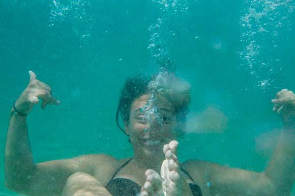 snorkel en el Algarve