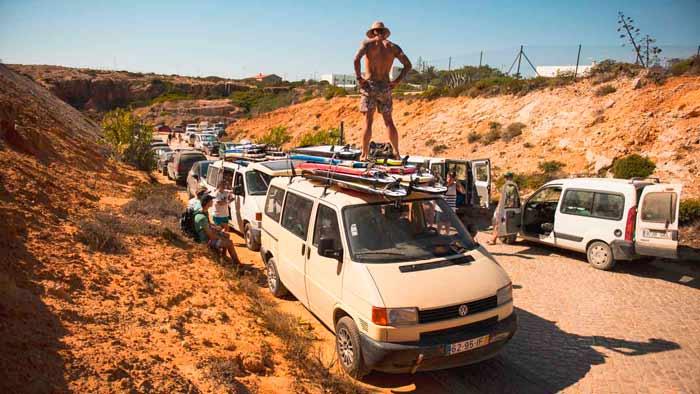 surfear en Portugal Tonel