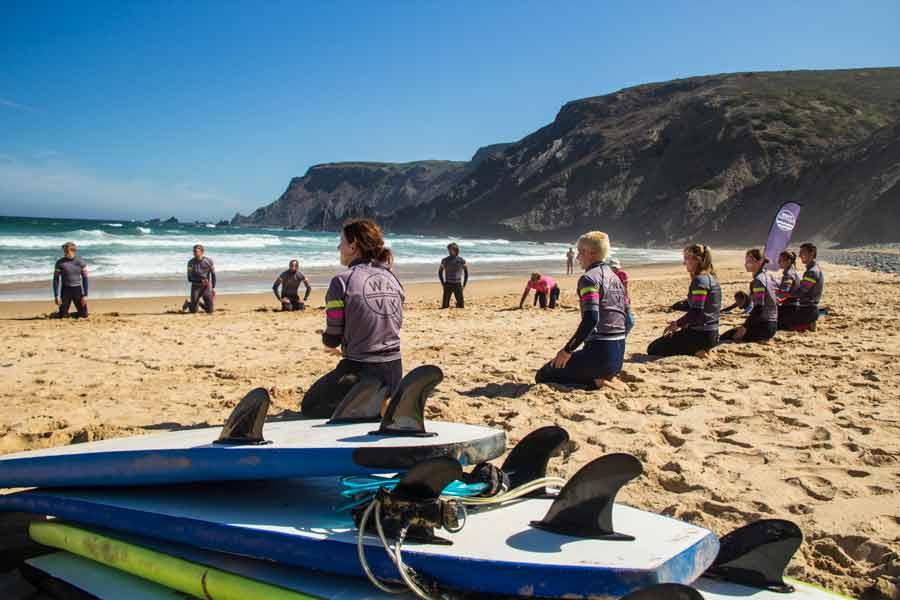 surfear en Portugal Sagres