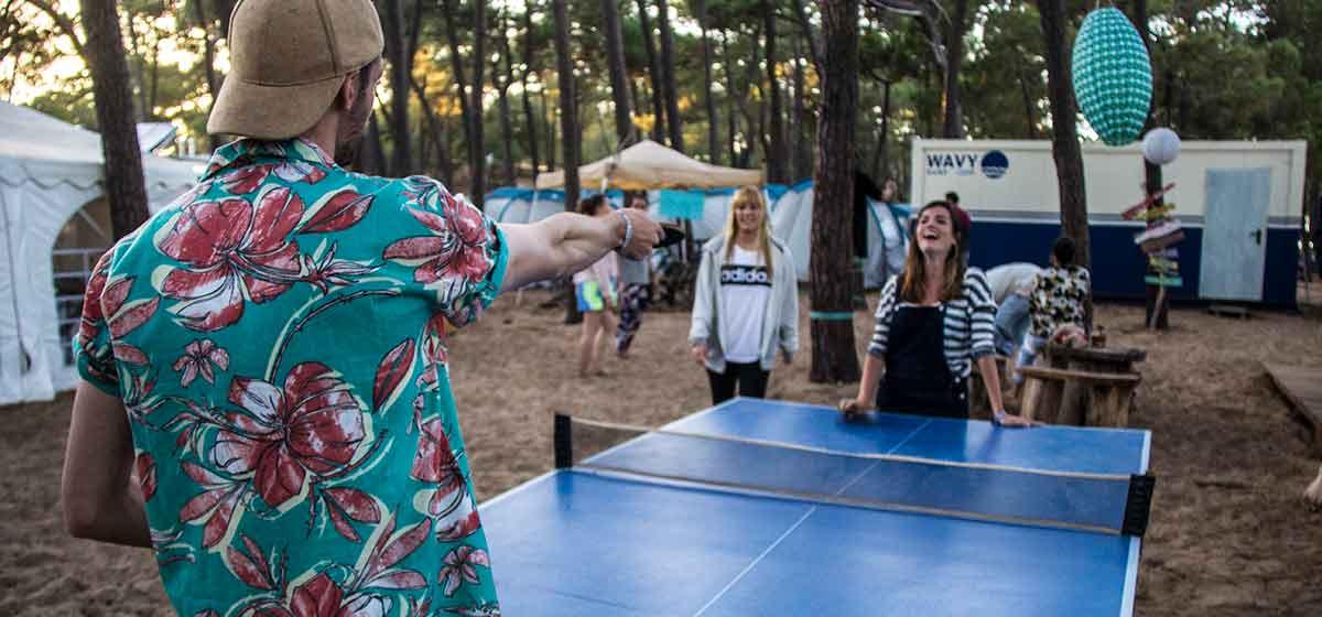vacaciones en Portugal wavy ping pong
