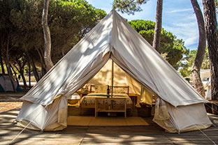 glamping tent algarve portugal