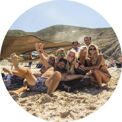 surfear en Portugal grupo