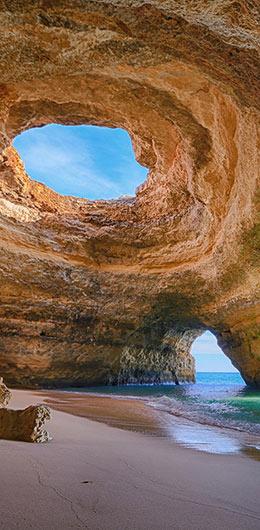 las mejores calas del Algarve benagil