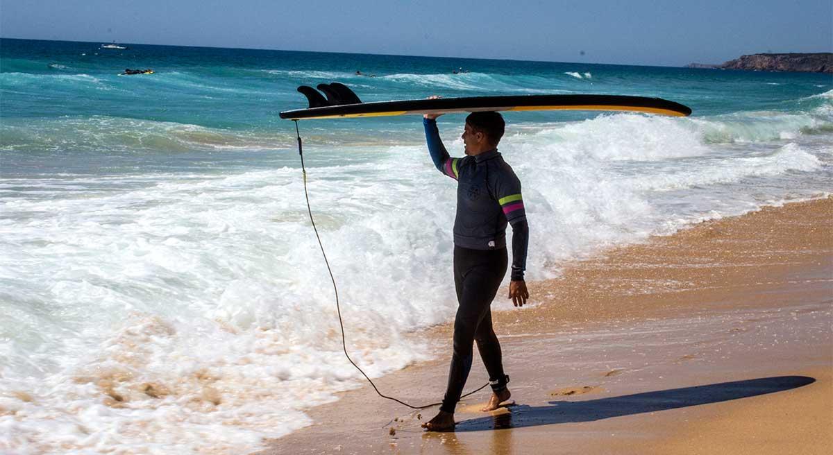 cultura de surf en algarve