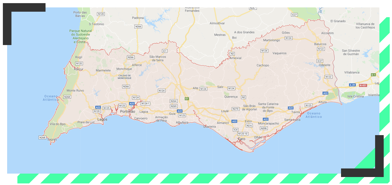 tu visita al algarve portugal
