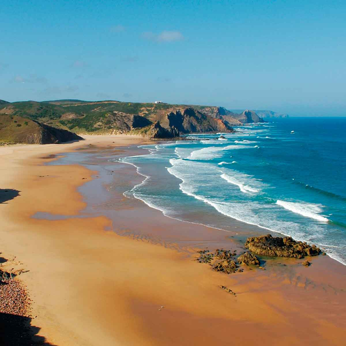 top 5 playas en el algarve praia do amado