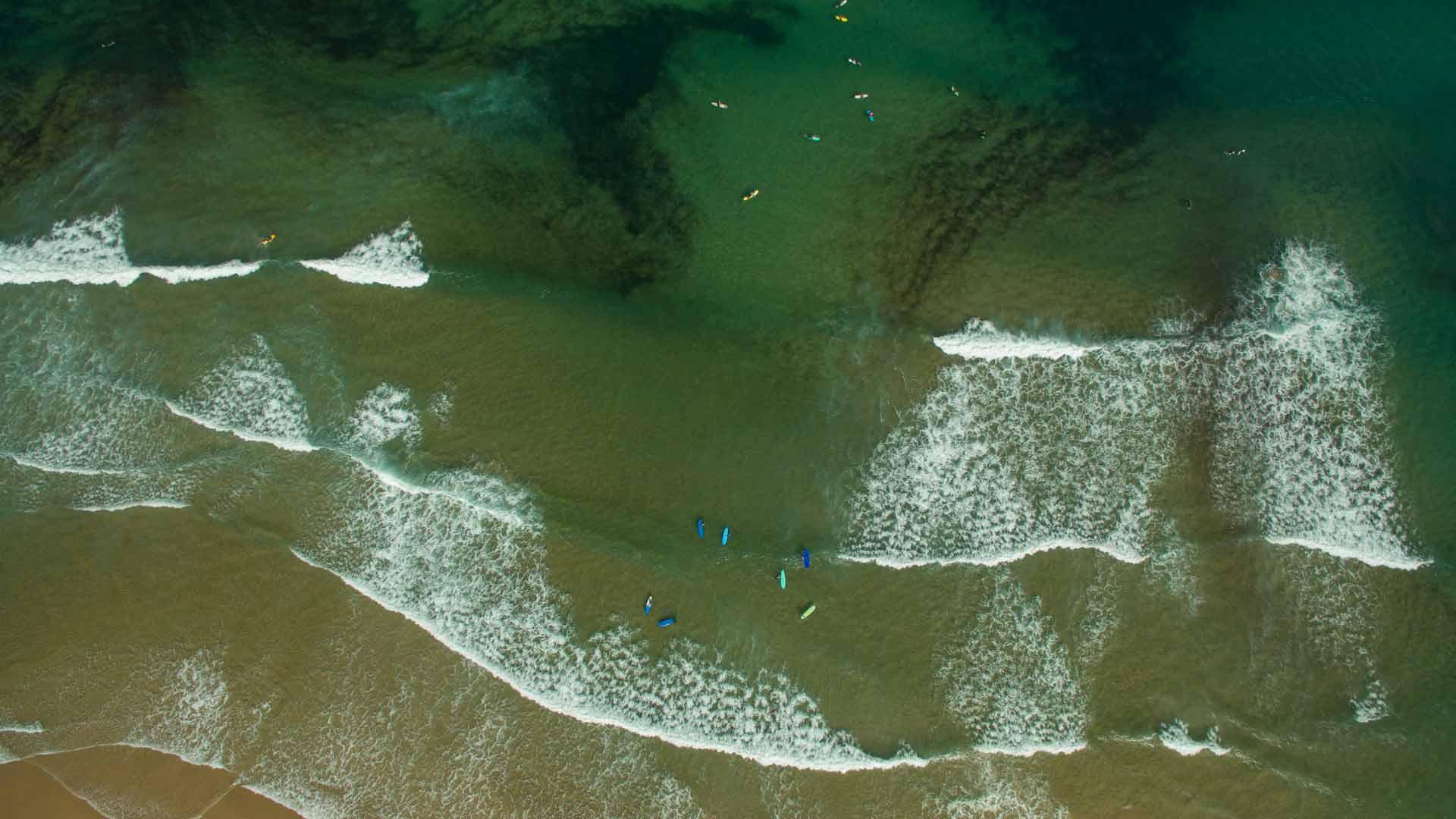 el destino para los surfistas en portugal