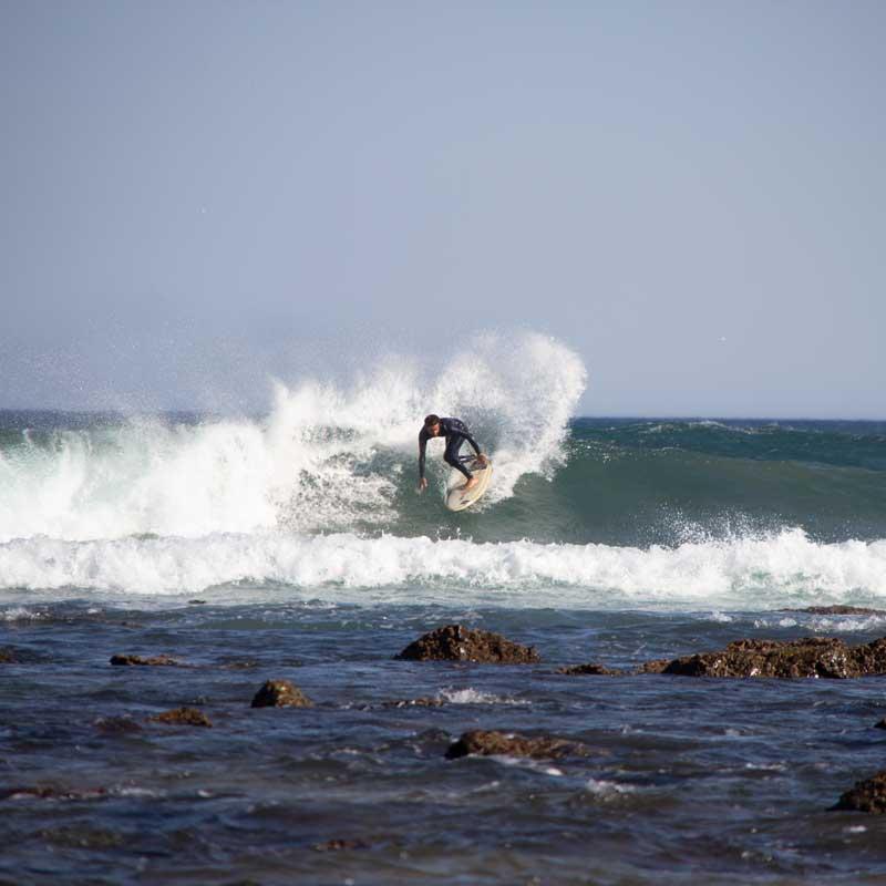 el destino para los surfistas en portugal surf
