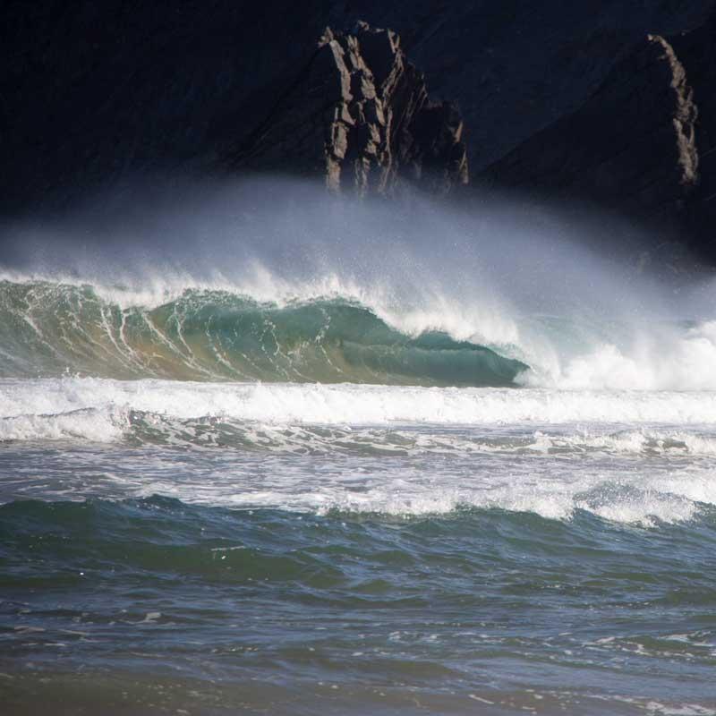 el destino para los surfistas en portugal sagres