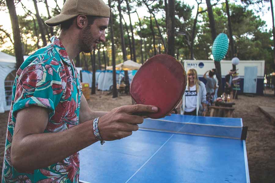 Ping pong sagres wavy surf camp