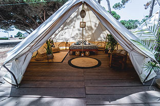 glamping surf camp