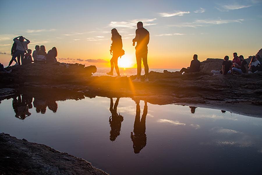 sunset wavy surf camp sagres portugal