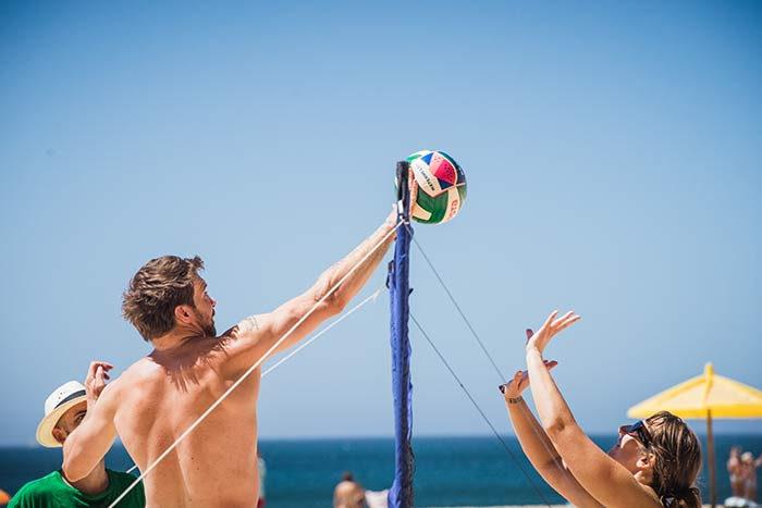 volleyball wavy surf camp sagres