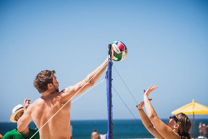 volleyball wavy surf camp sagres
