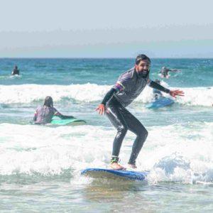 surf take off